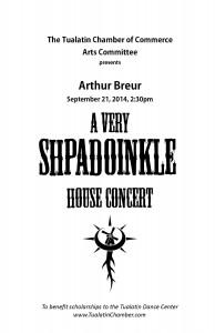 House Concert Cover, September 2014