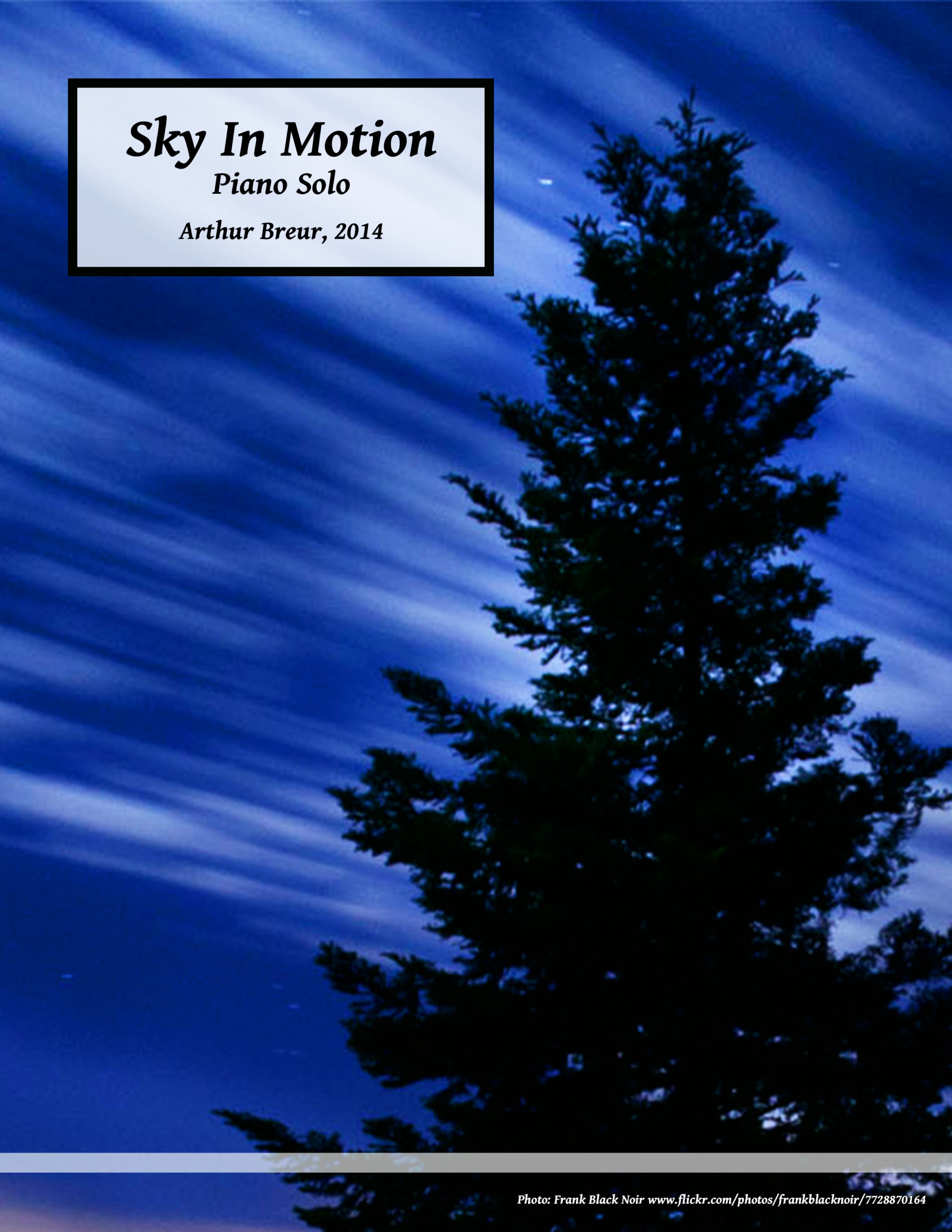 Sky In Motion – Piano Solo
